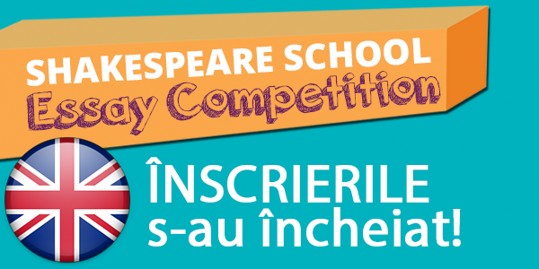 shakespeare school essay competition 2014 rezultate